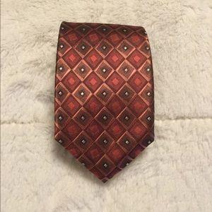 Copper color Geo tie